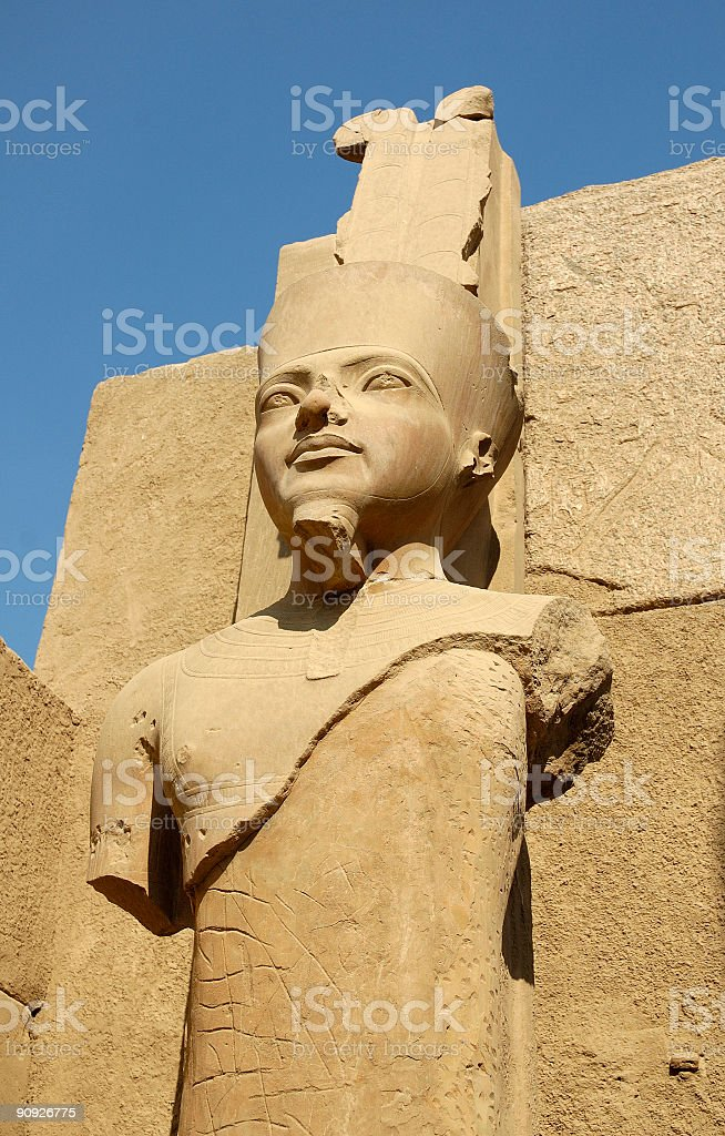 the ancient statue royalty-free stock photo