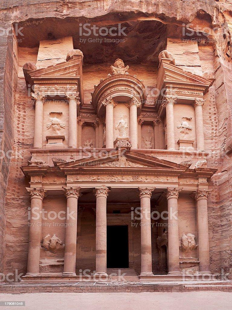 The ancient Treasury stock photo