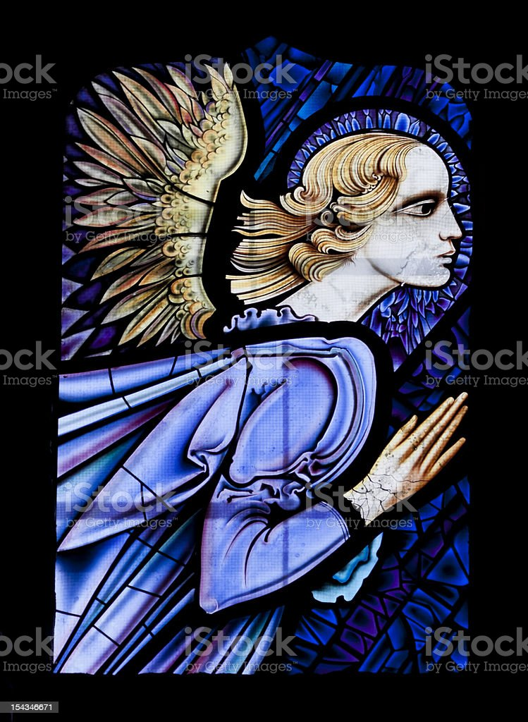 The Annunciation stock photo