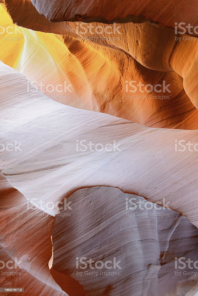 The Antelope Canyon, Page, royalty-free stock photo