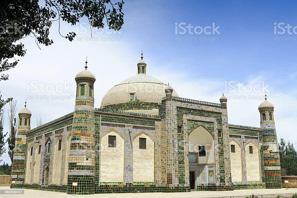The Apak Hoja Mazzar (Xiangfei Tomb)?Xinjiang,China stock photo