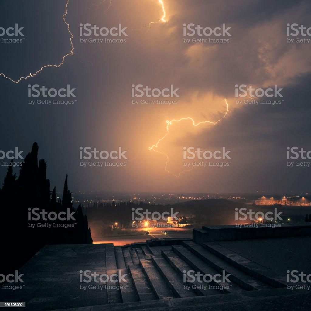The Apocalypse stock photo