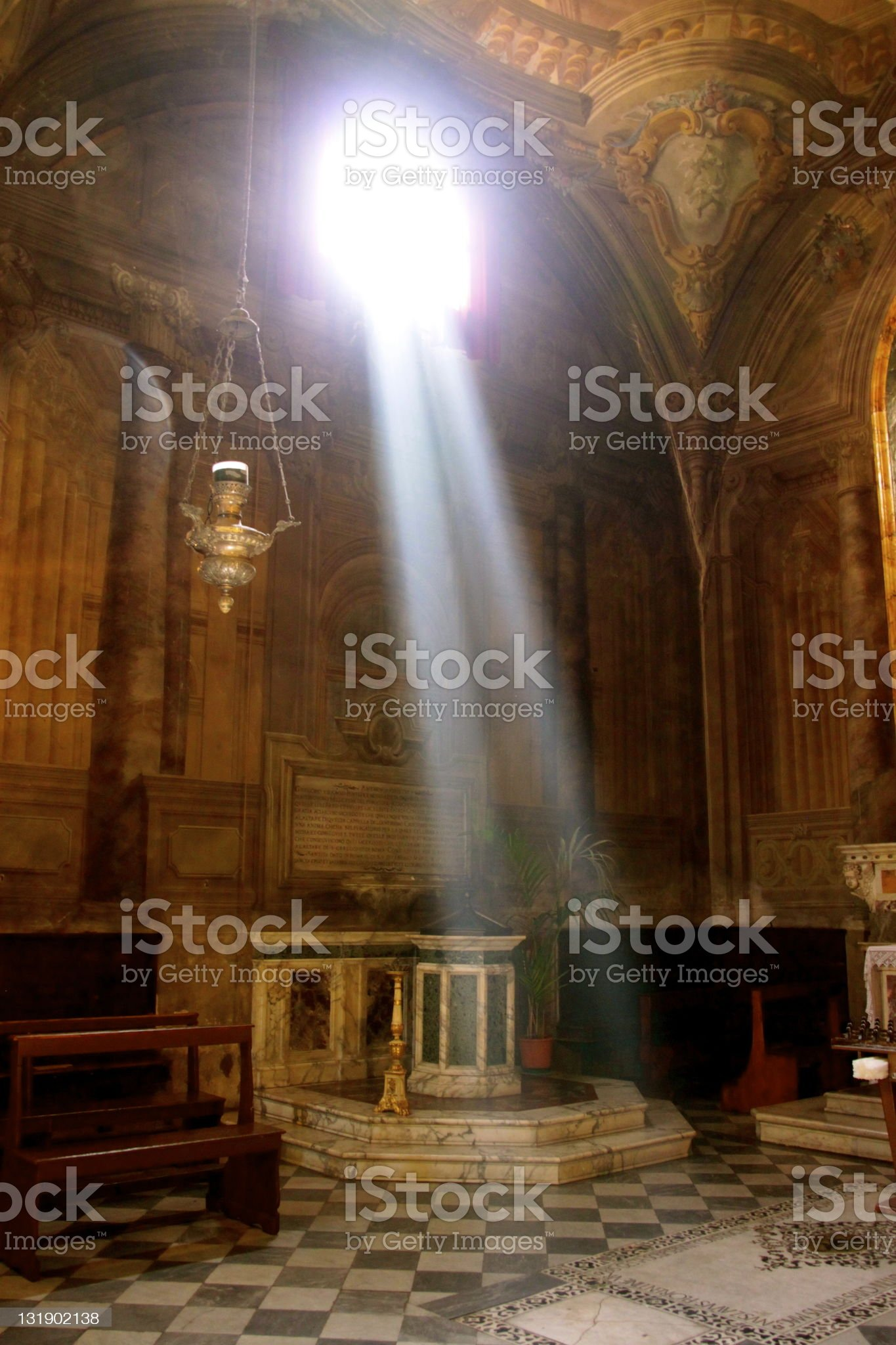 The Apparition royalty-free stock photo