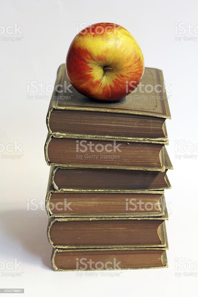 the apple stock photo