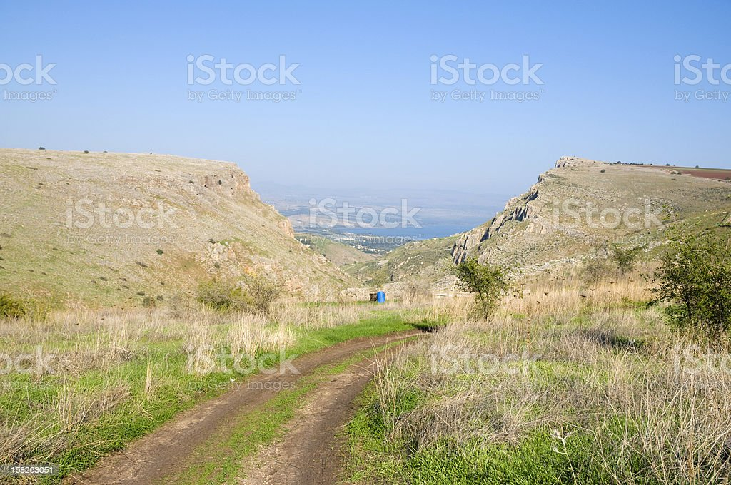 The Arbel Cliff royalty-free stock photo