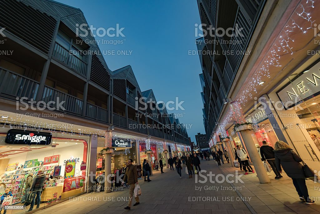 The Arc Shopping centre in Bury St Edmunds stock photo