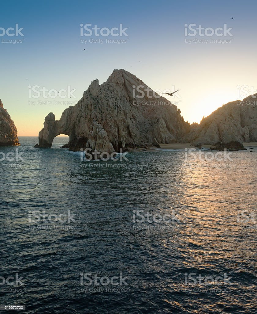 The Arch at Land's End stock photo