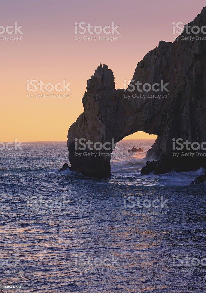 The Arch in Cabo San Lucas, Mexico stock photo