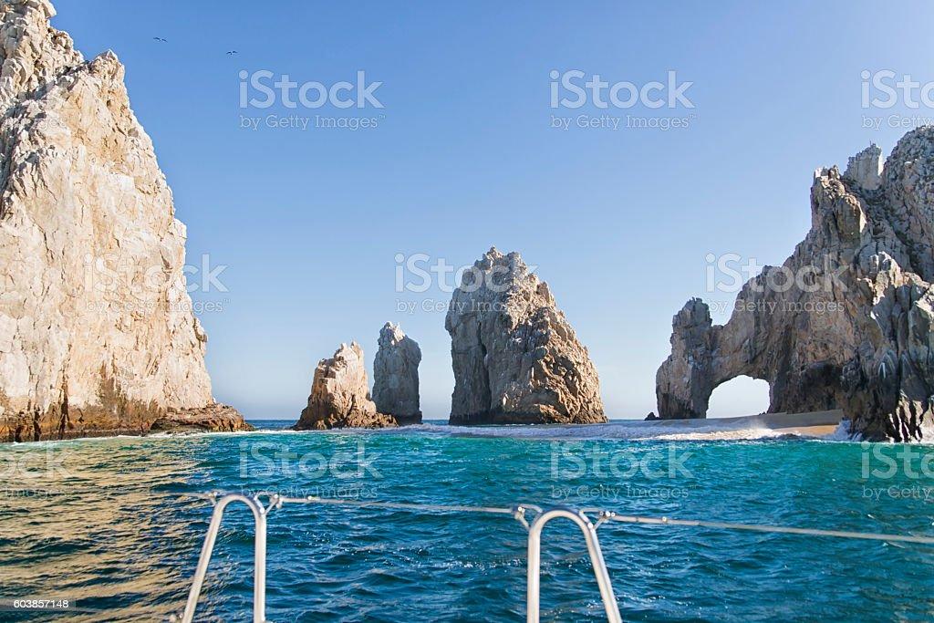 El Arco de Cabo San Lucas stock photo