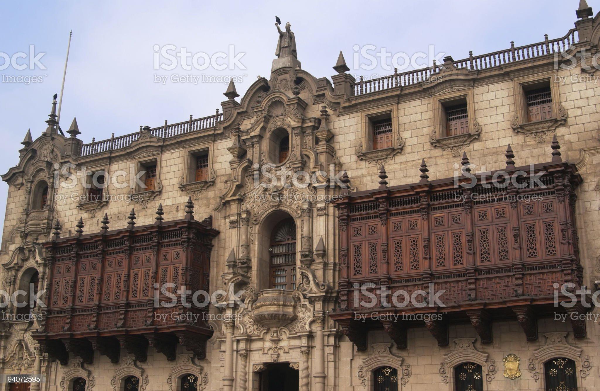 The Archbishop palace royalty-free stock photo