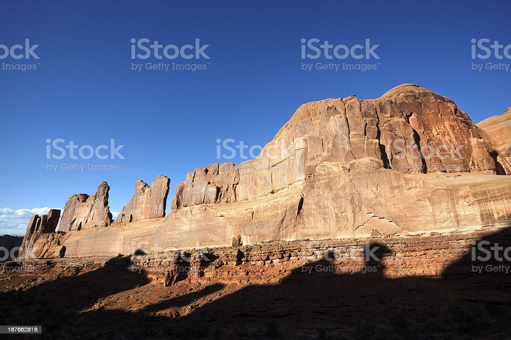 The Arches National Park, Utah, USA royalty-free stock photo