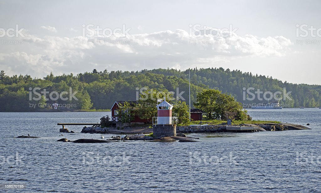 The archipelago stock photo