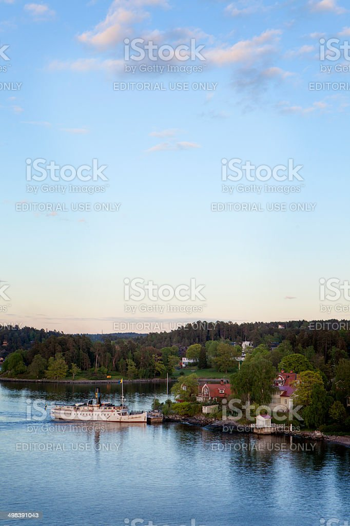 The Archipelago Sea, Finland stock photo