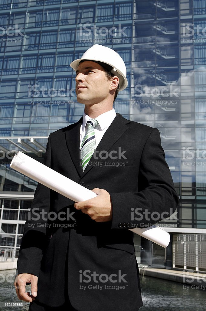 The Architect royalty-free stock photo