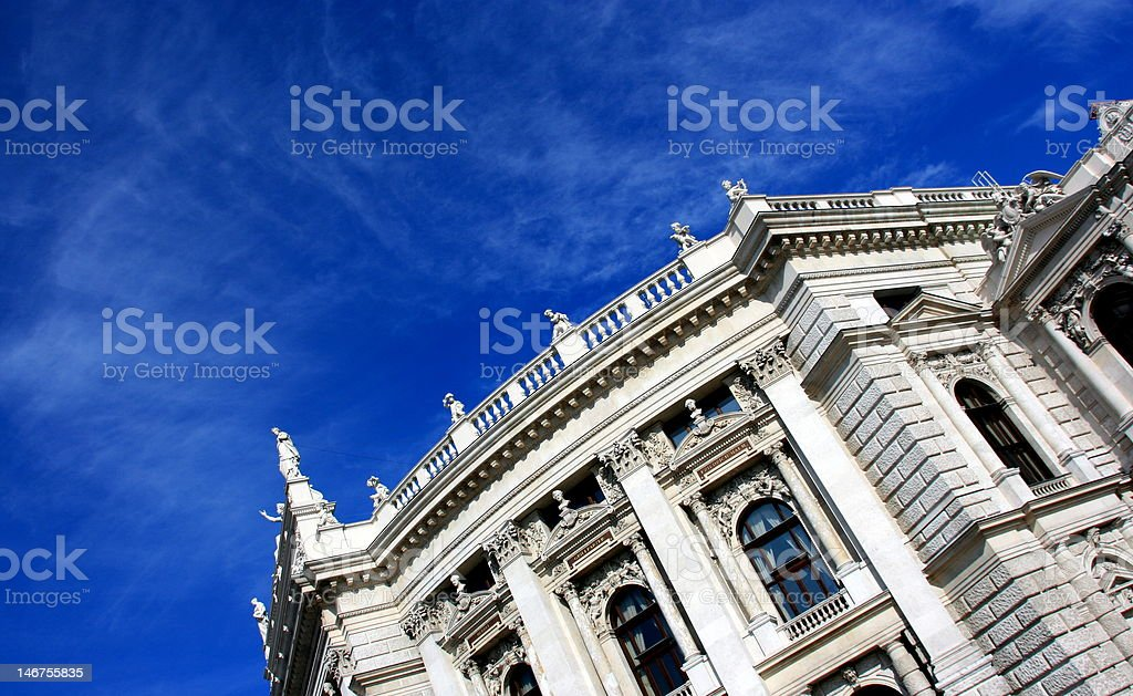 The Architecture of Vienna royalty-free stock photo