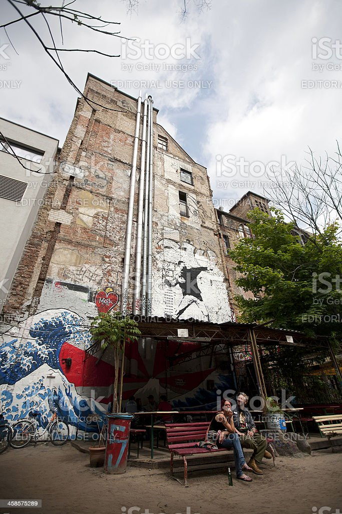 The Art House Tacheles in Berlin stock photo
