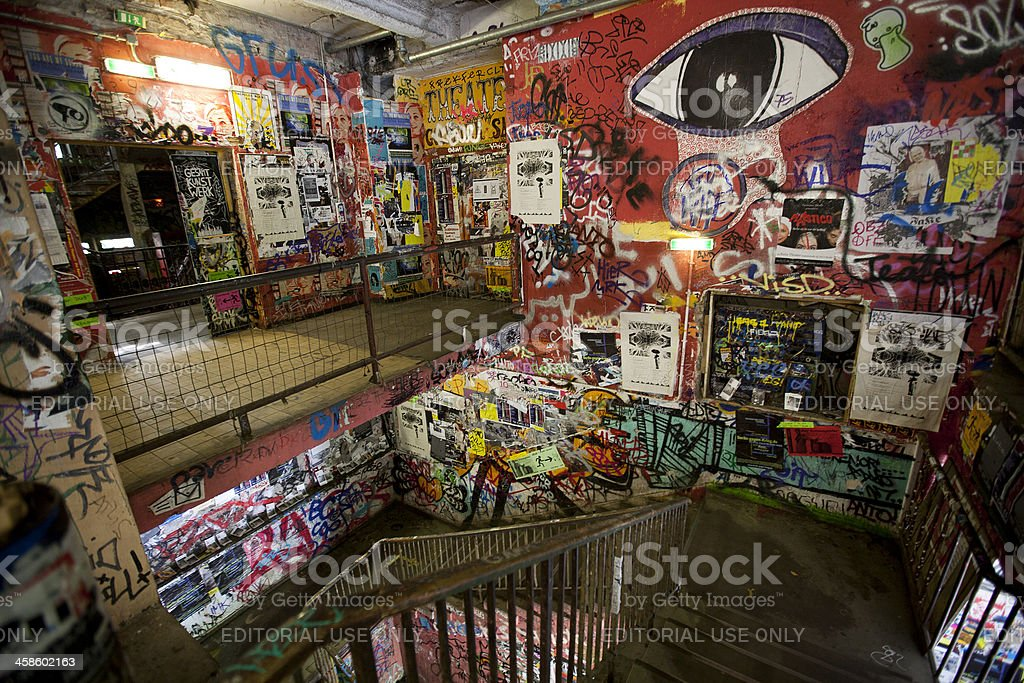 The Art House Tacheles in Berlin royalty-free stock photo