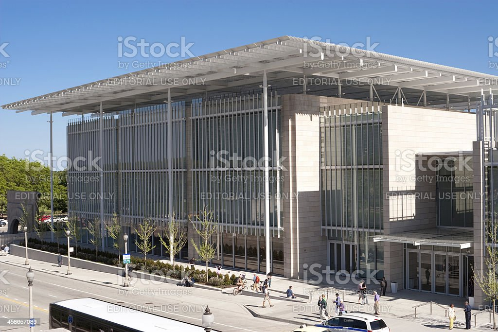 The Art Institute of Chicago - Modern Wing royalty-free stock photo