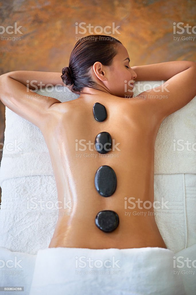 The art of relaxation stock photo