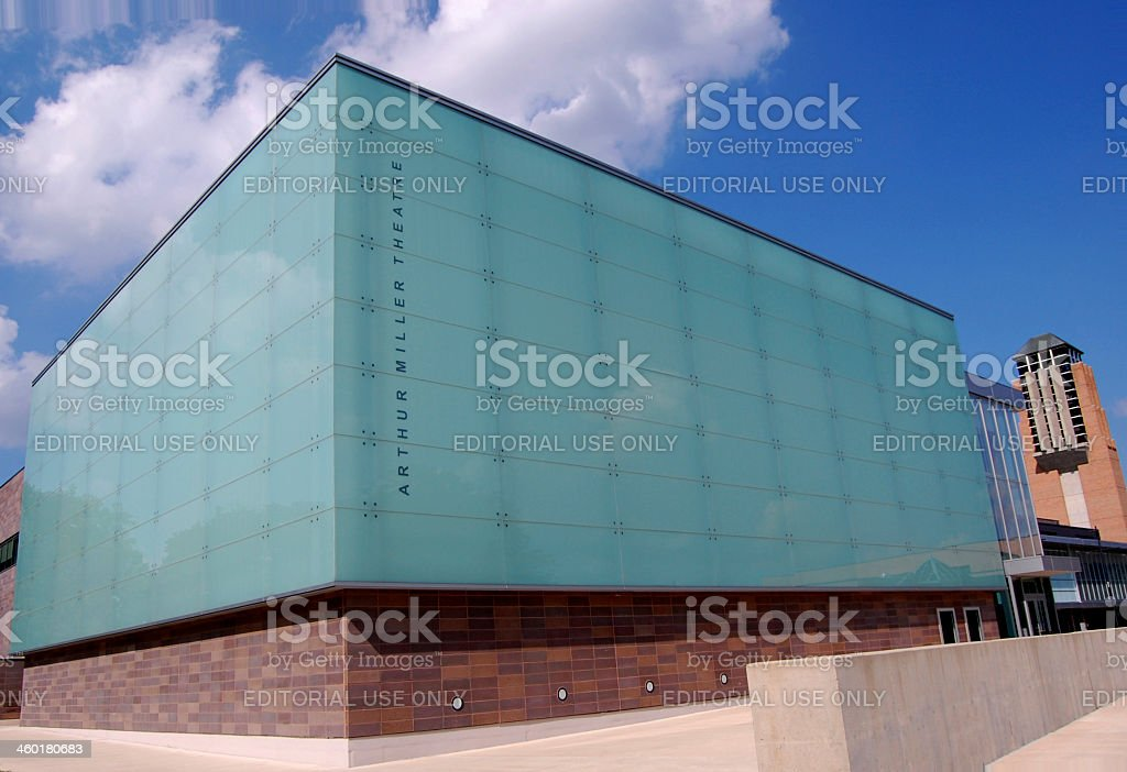 The Arthur Miller theater royalty-free stock photo