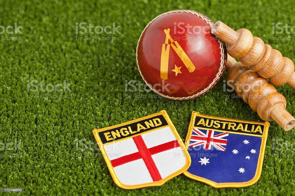 The Ashes England v Australia stock photo