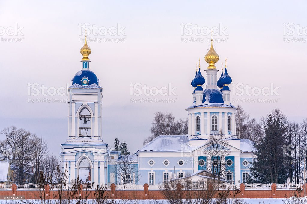 The assumption Dunilovski convent stock photo
