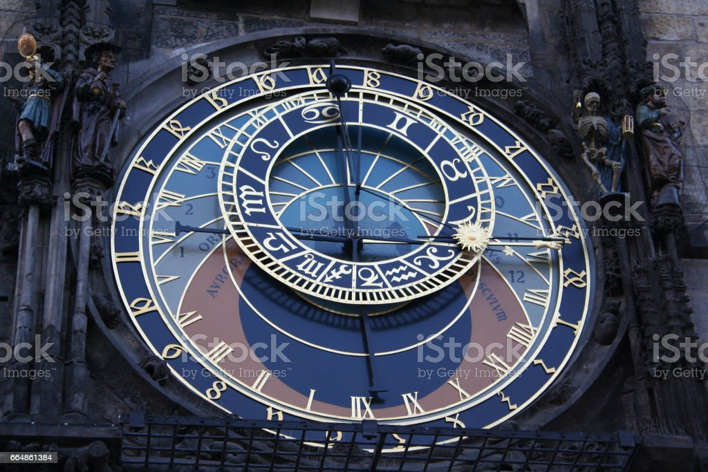The Astronomical Clock stock photo