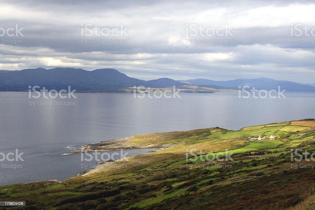The Atlantic Coast of Ireland Sheeps Head Peninsula stock photo
