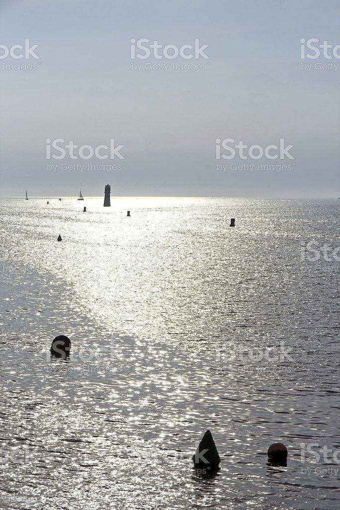 The Atlantic Ocean royalty-free stock photo