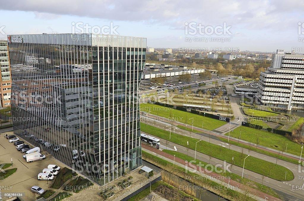 The Atradius Building stock photo