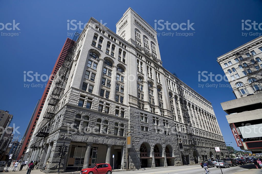 The Auditorium Building, Chicago royalty-free stock photo