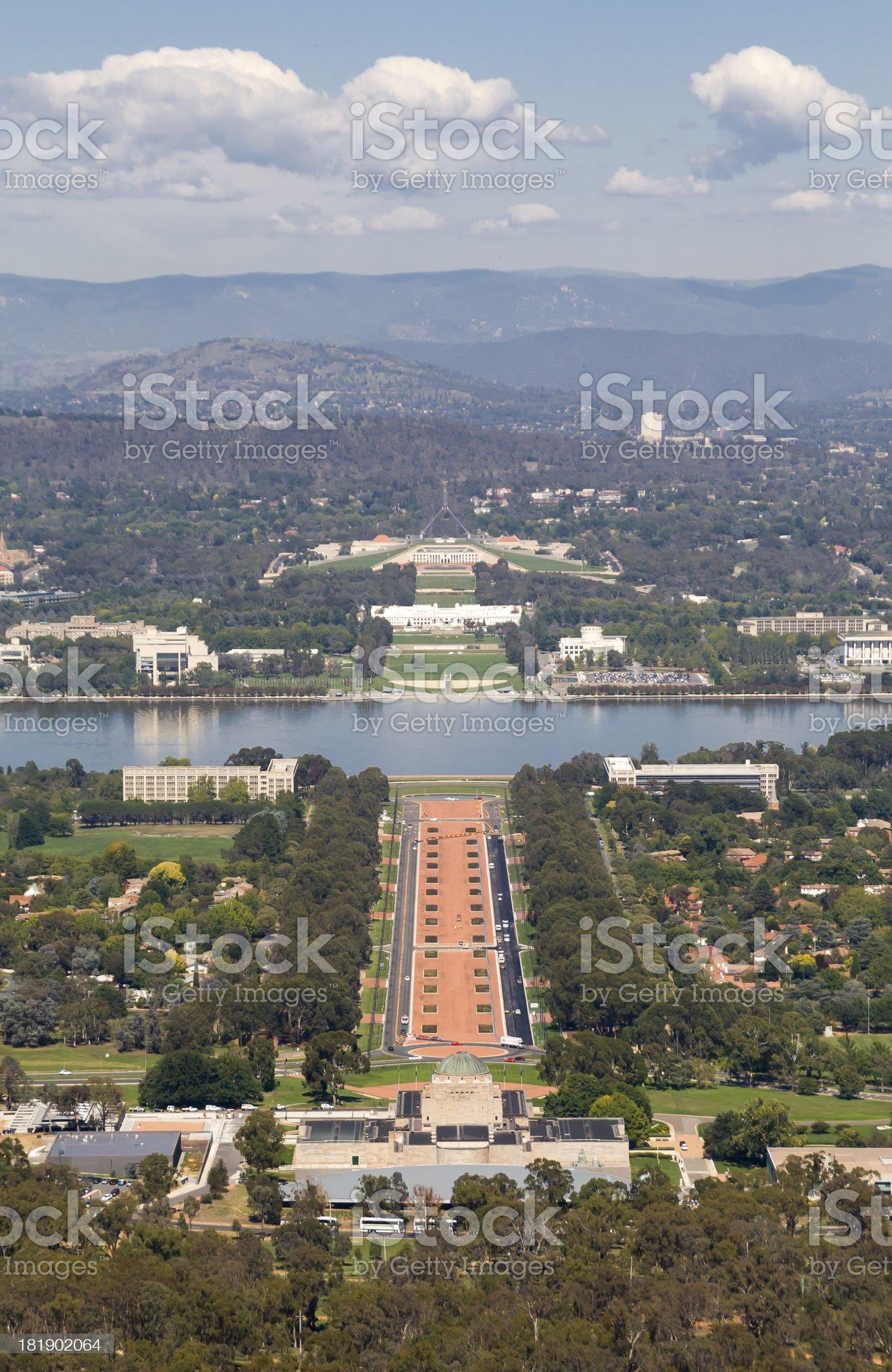 The Australian Capital royalty-free stock photo