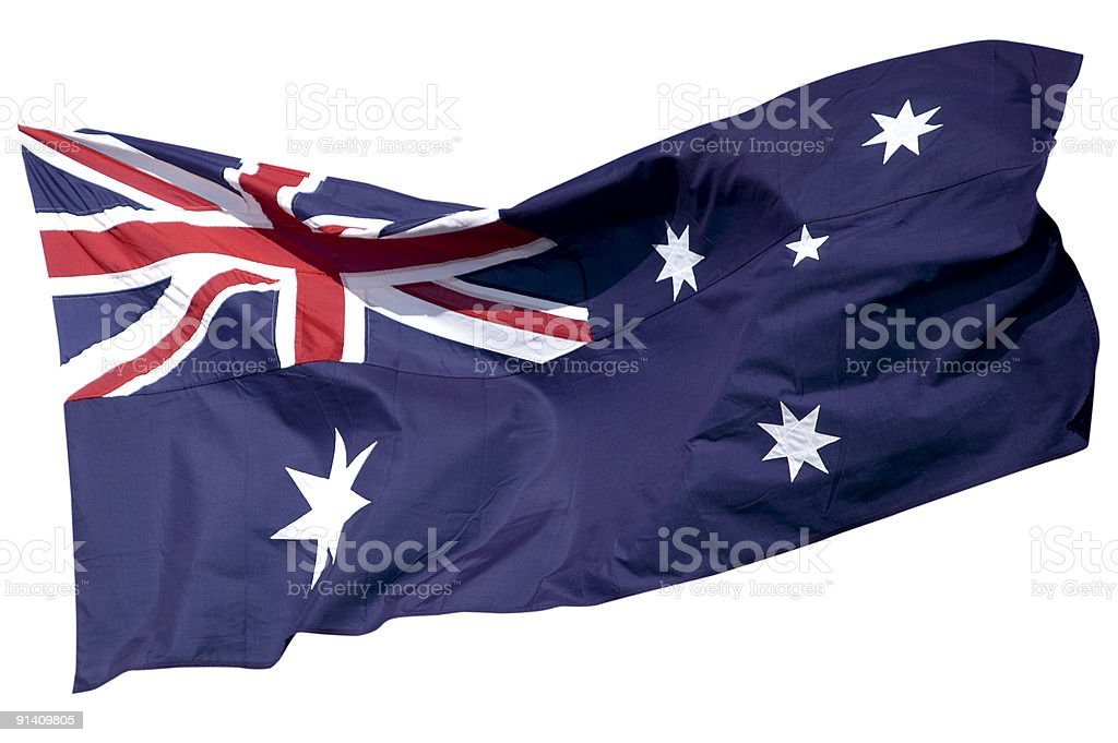 The Australian Flag Series royalty-free stock photo