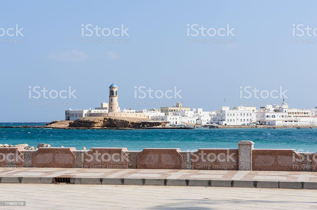 The Ayjah Lighthouse stock photo
