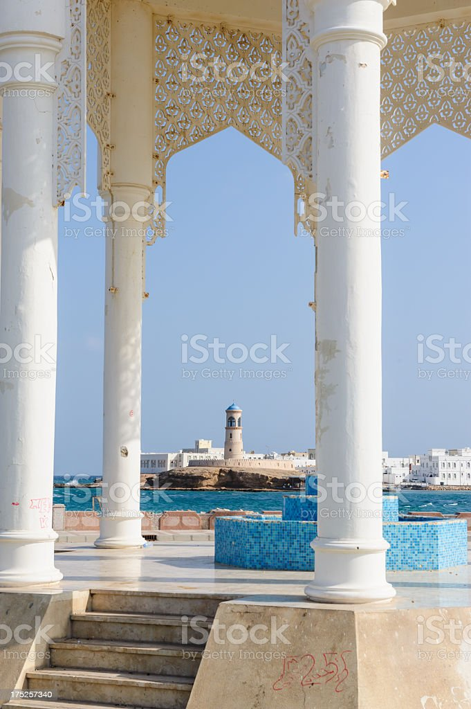 The Ayjah Lighthouse royalty-free stock photo