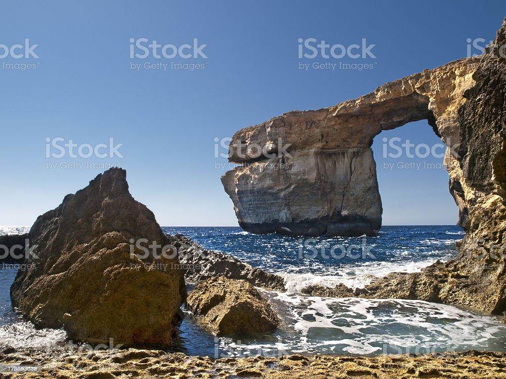 The Azure Window royalty-free stock photo