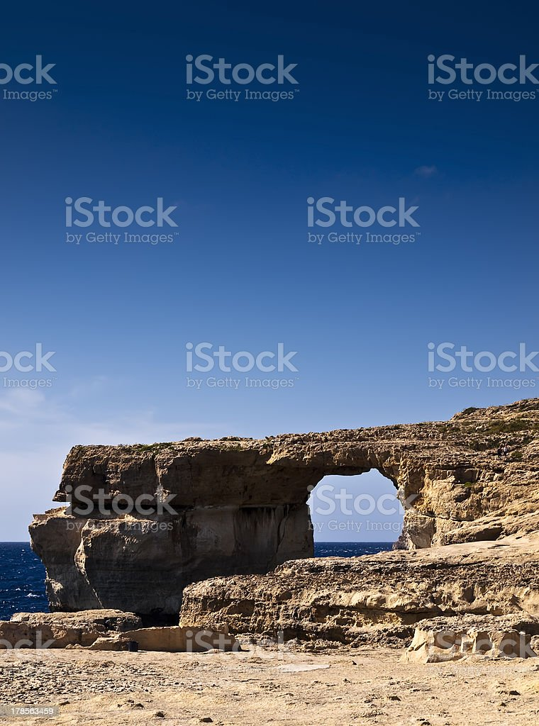 The Azure Window royalty-free stock photo