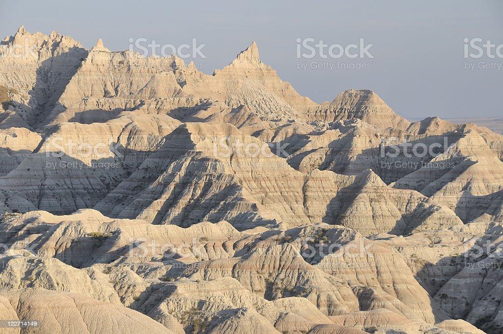 The Badlands, South Dakota stock photo