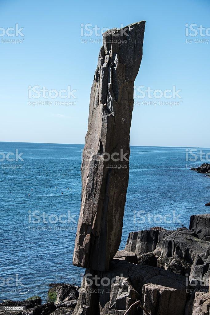 The Balancing Rock stock photo