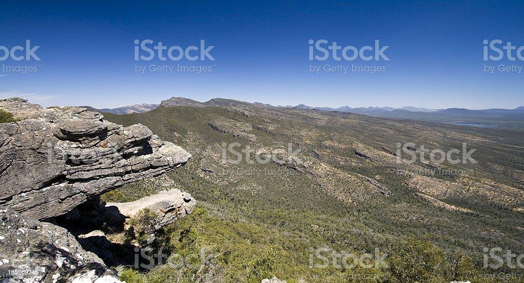The Balconies stock photo