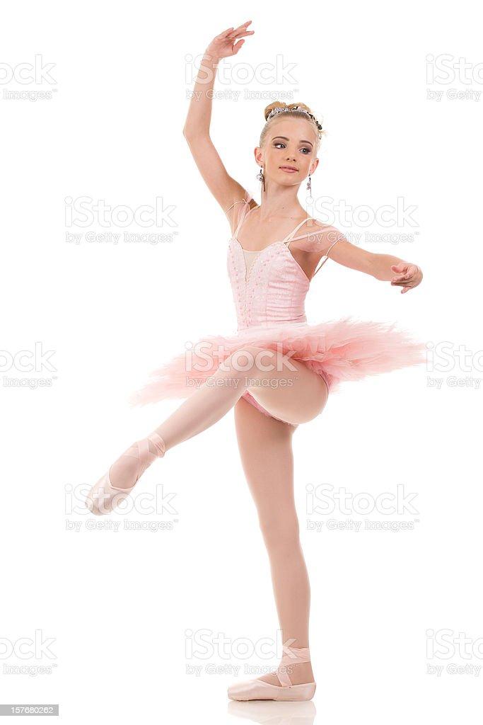 The ballerina stock photo