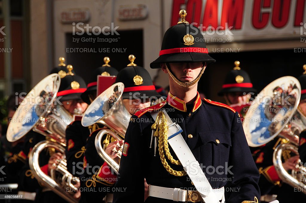 The Band Of Jersey. stock photo