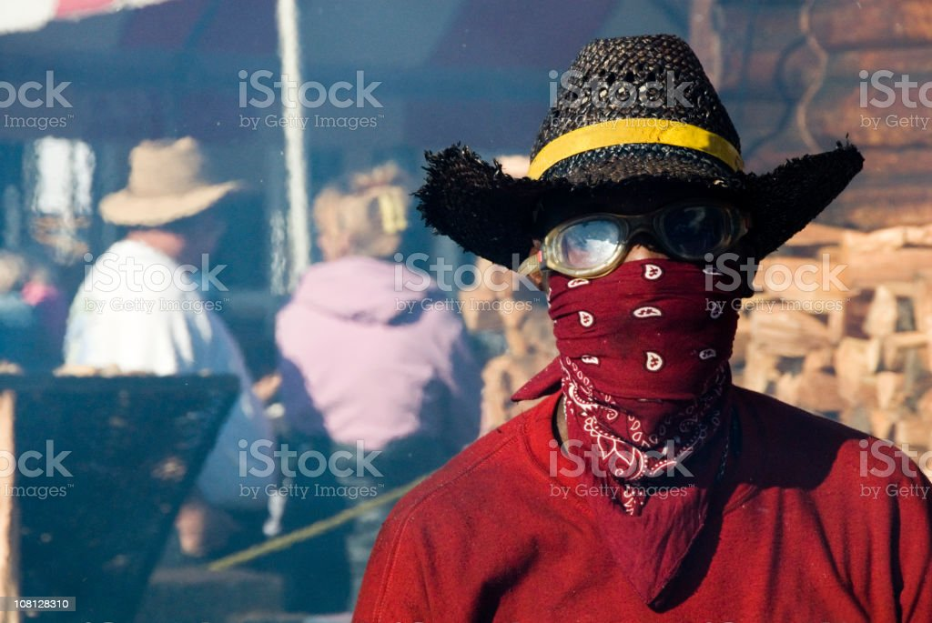 The Bandit Outlaw royalty-free stock photo