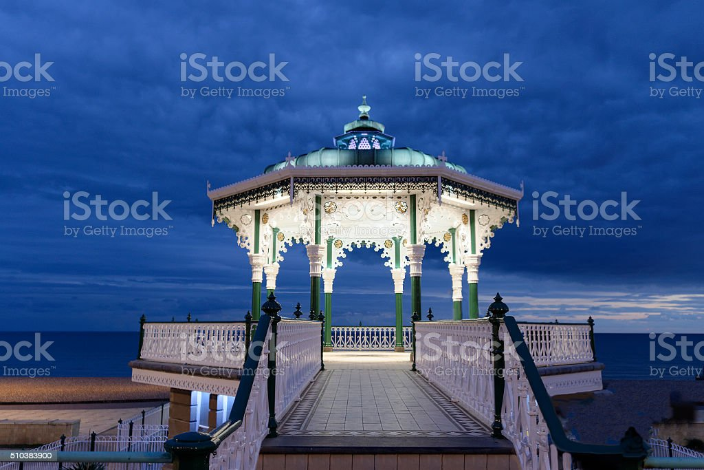 The Bandstand Brighton and Hove stock photo