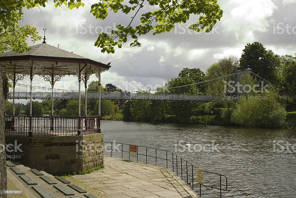The Bandstand royalty-free stock photo