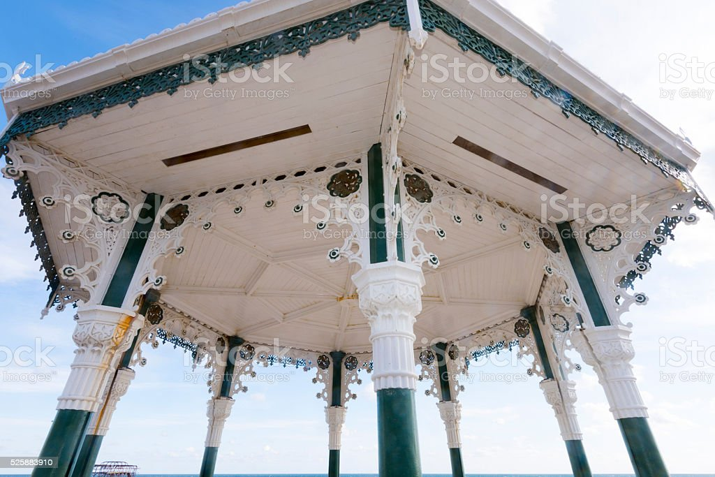 The Bandstand. stock photo