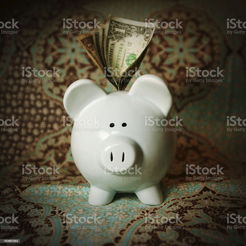 The Bank royalty-free stock photo