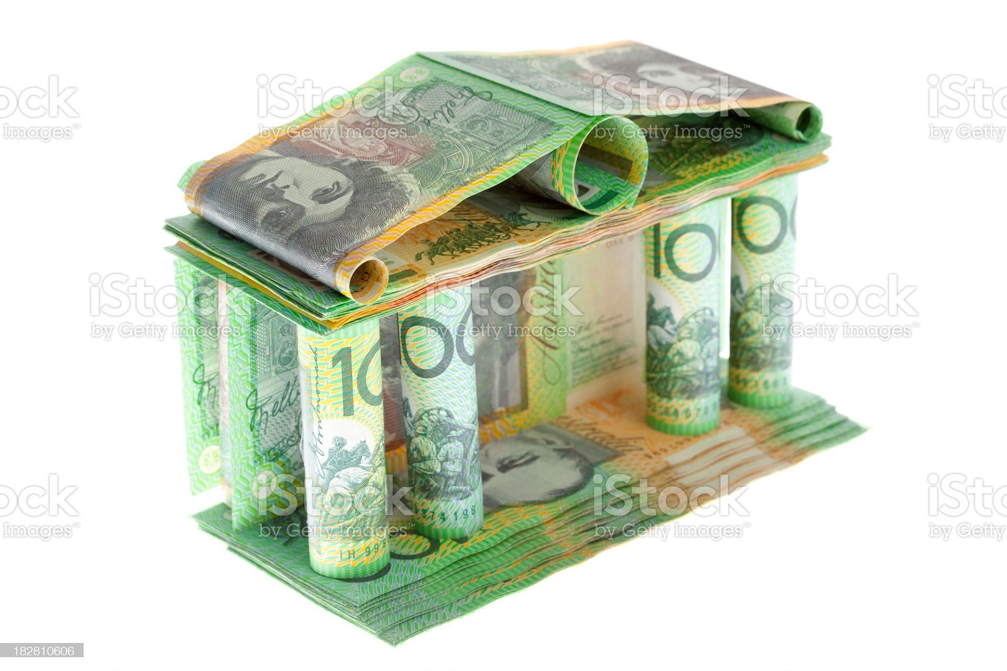 The bank. royalty-free stock photo