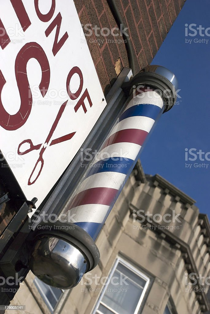 The Barbershop stock photo