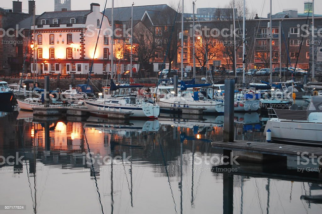 The Barbican, Plymouth royalty-free stock photo
